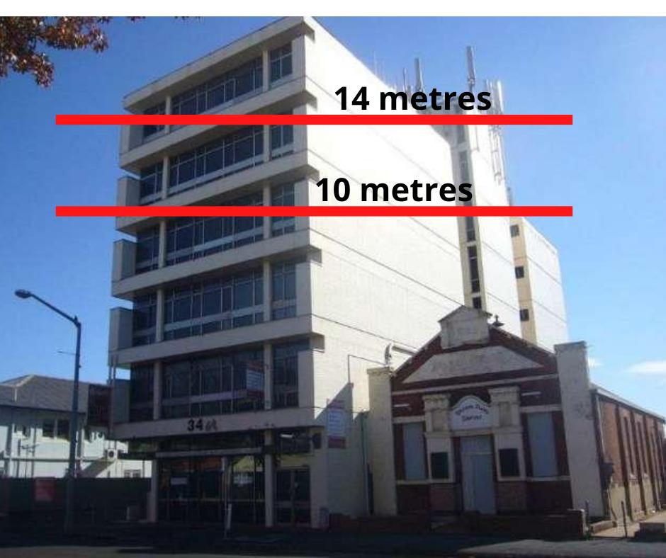 14 metres